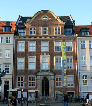Fotografisk Center - Kunstforeningen's building at Gammel Strand which housed the Fotografisk Center until 2008