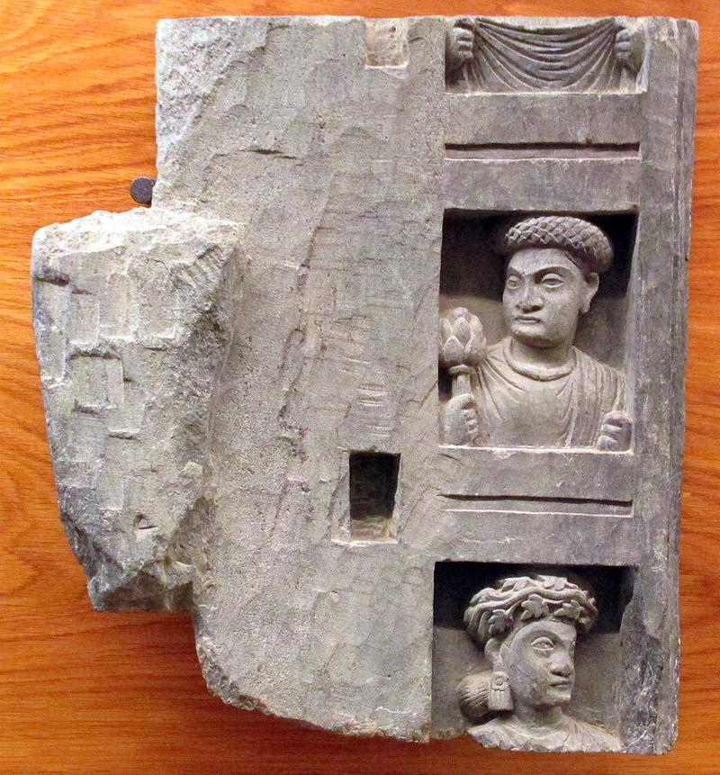 Gandhara, lättnad figure.JPG