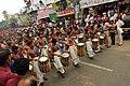 Ganesh Chaturthi parade chenda melam Trivandrum India 2009.jpg