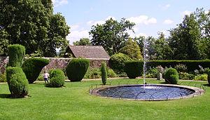 Groombridge Place - The Drunken Garden, the favourite garden of Sir Arthur Conan Doyle.