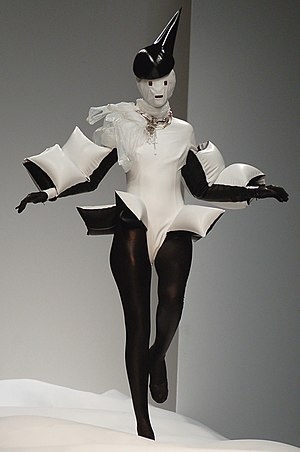 Gareth Pugh - Pugh's trademark inflated clothing.