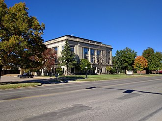 Garvin County, Oklahoma - Image: Garvin County Courthouse
