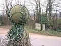 Gateposts at Bowls Cross - geograph.org.uk - 141323.jpg
