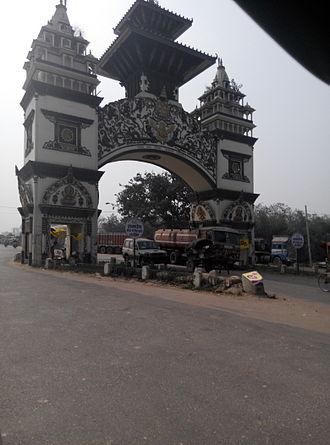 Raxaul - Gateway to Nepal outside Birgunj