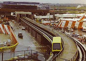 Gatwick Airport Monorail.