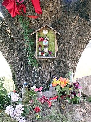Gauchito Gil - Gauchito Gil shrine, Argentina.