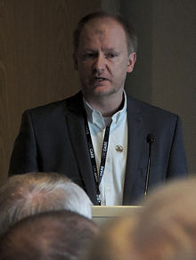 Gavin Mudd speaks at a CRCCARE forum in Adelaide (2015)