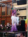 Gaypride 2016, Drag queen singer pic2.JPG
