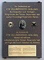 Gedenktafel Piazza Duomo 1 (Meran) Friedrich Wilhelm Ellmenreich.jpg