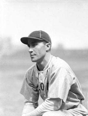 Gene Robertson - Robertson with the St. Louis Browns in 1925