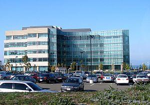 Genentech - Building 32, one of the Genentech headquarters' newer buildings