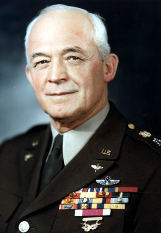 "General of the Air Force - Henry ""Hap"" Arnold in the uniform of General of the Army. His rank was changed in 1949 to that of General of the Air Force"