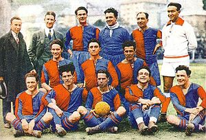 Genoa C.F.C. - The last Genoa side to win the Italian Football Championship, in 1924