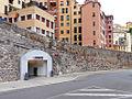 Genova metropolitana Sarzano accesso via della Marina.JPG
