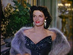 Russell in Gentlemen Prefer Blondes (1953)