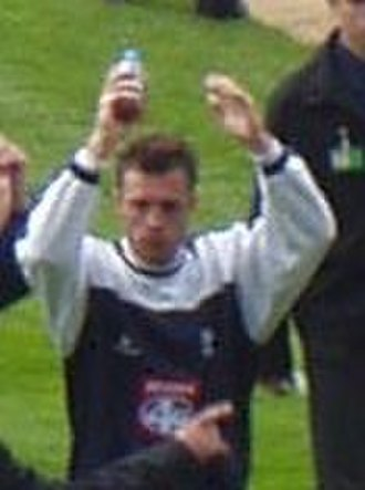 Geoff Horsfield - Horsfield acknowledges Birmingham City's supporters at the end of the 2002–03 season