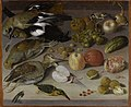 Georg Flegel Früchte- und Gemüsestilleben mit Vögeln.jpg