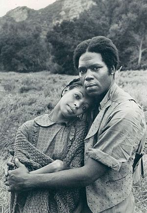 Lynne Moody - Moody with Georg Stanford Brown in Roots