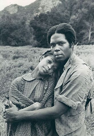 Lynne Moody - Moody with Georg Stanford Brown in Roots (1977)