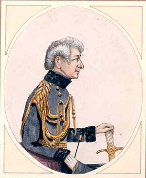 George Charles D'Aguilar - D'Aguilar, c. 1845