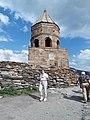Gergeti bell tower, from below.jpg