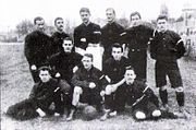 German football team 1898 in Paris