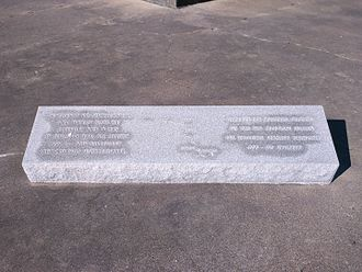 German Texan - Marker commemorating German immigration to the Texas Hill Country, located in Indianola, Texas