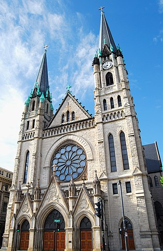 Gesu Church (Milwaukee, Wisconsin) - Image: Gesu Church Milwaukee