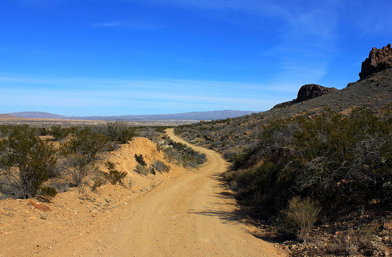 File:Gfp-texas-big-bend-national-park-path-through-the-sands.jpg