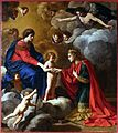 Giacinto gimignani, matrimonio mistico di santa caterina, 1645-50 ca.jpg