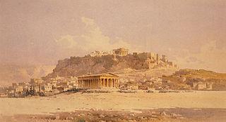 Thiseío et l'Acropole