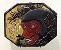 Giappone, inroo in lacca, periodo edo, 14 scimmione.jpg
