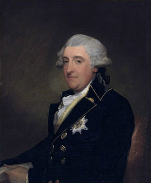 William FitzGerald, 2nd Duke of Leinster - The Second Duke of Leinster, by Gilbert Stuart