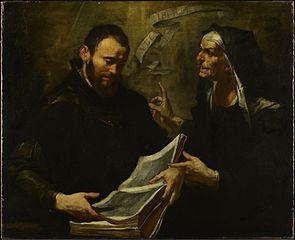 Saint Augustine and Saint Monica
