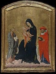 Virgin and Child with Saints Jerome andBartholomew