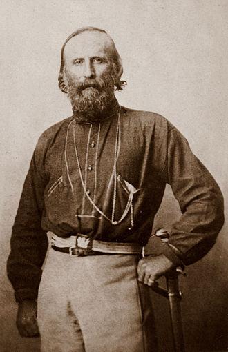 Capture of Rome - Giuseppe Garibaldi, 1861.
