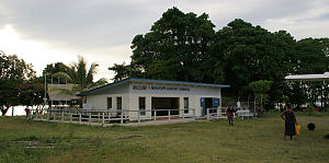 Gizo, Solomon Islands - Gizo's Nusatupe Airport Building (Feb 2005).