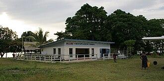 Gizo, Solomon Islands - Gizo's Nusatupe Airport Building (Feb 2005).