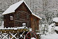 Glade-creek-gristmill-winter-snow-fall-postcard-pub - West Virginia - ForestWander.jpg