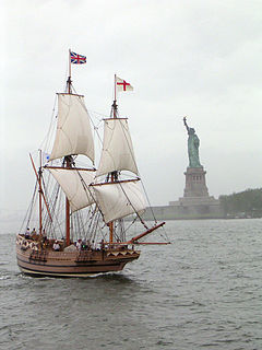 English full-rigged ship