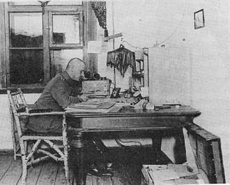 Carl Friedrich Goerdeler - Goerdeler as an officer on the Eastern Front, 1916