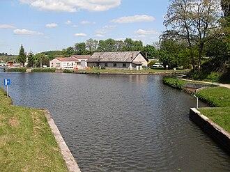 Canal de la Meuse - Canal des Vosges at Golbey
