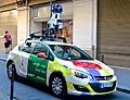 Google maps car, Paris May 2014.jpg
