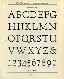 List of typefaces designed by Frederic Goudy - Wikipedia