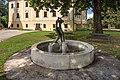 Grafenstein Kirchplatz Krkoška-Brunnen Kampf am Jabbok 26072018 4010.jpg