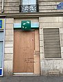 Graffiti anti-Macron, boulevard du Montparnasse, Paris 15e.jpg