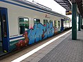 Graffiti on rolling stock in Rome - panoramio - Nicholas Frisardi.jpg