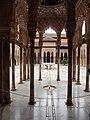 Granada, Alhambra, Patio de los Leones (14).jpg