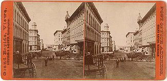 Pearl Street, located downtown, c.1885