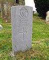 Grave of Rifleman M. Davis, Drumbo Presbyterian Churchyard - geograph.org.uk - 841660.jpg